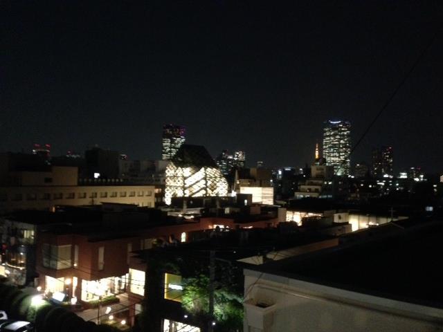 スタジオ夜景